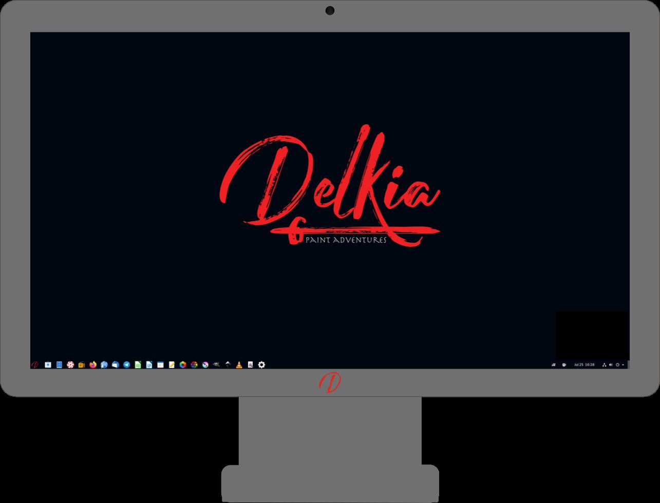 Delkia OS Desktop