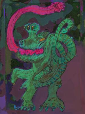 Japanese Frog Monster